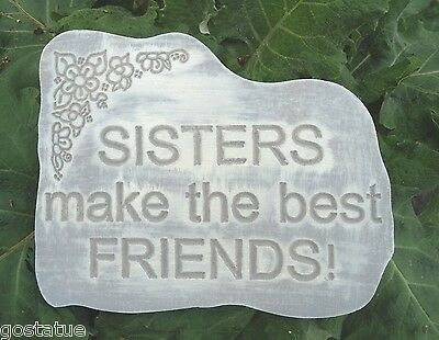 Sister best friend mold plaster concrete reusable casting plastic