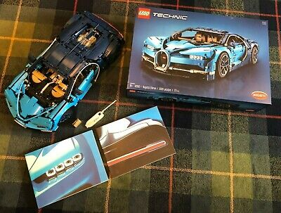 Lego Technic Bugatti Chiron (42083) Assembled /w box and manual