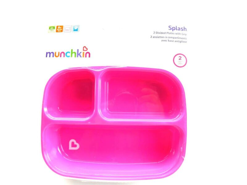 Splash Toddler Divided Plates