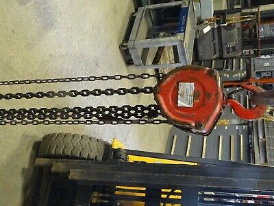 Milwaukee 2-ton Chain Hoist Manual Chain Fall Cat No. 9513