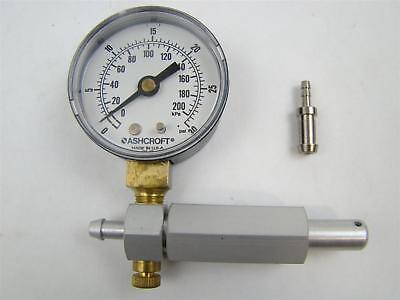 Ashcroft Marine Outboard 30 Psi Pressure Test Gauge 0-30psi