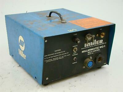 Miller Weld Control Millermatic For Spool Gun Wc-1