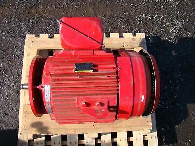 Baldor Reliancer Super-e Motor 75hp 200v Ph3 1780rpm 197a B520695