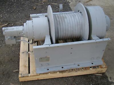 Dp Manufacturing Hydraulic Recovery Winch 55000 Lb Capacity Model 51883