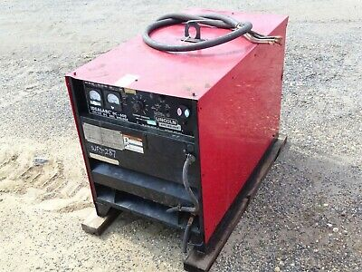 Lincoln Idealarc Dc Multiprocess Welder Power Source 230460v 3-ph Dc-600