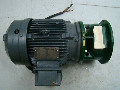 Siemens 7.5hp Electric Motor 230460 R6zesd Metpro Pump Adapter