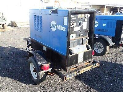 Miller 2014 Big Blue 400 Dc Welding Generator 3258 Hours Me100061e