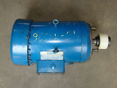 Leeson 5hp Electric Motor 460860v C040246