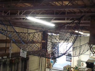 Dbi Sala Nylon Perimeter Netting Cargo Net 15 X 30 200485 With Drum