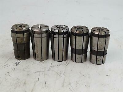 5 Assortment Machinist Milling Collet 1132 38 2564 716