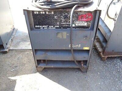 Lincoln Electric Dc Arc Welder Idealarc R3r-500