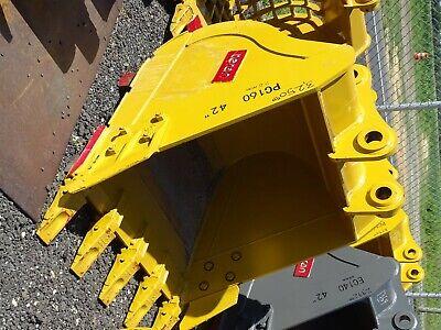42 Excavator Bucket Komatsu 70mm Pin 12 12between Ears Pc160