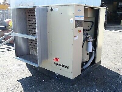 Ingersoll-rand 75hp Rotary Screw Air Compressor 323cfm 460v Ssrep75