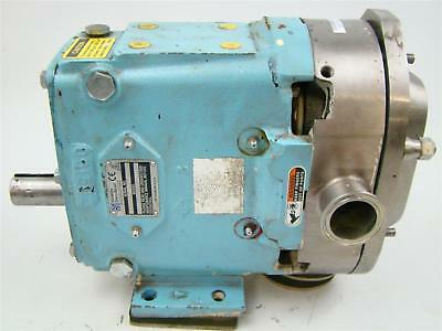 Waukesha Positive Displacment Stainless Steel Pump Sanitary Tri-clamp Connectio