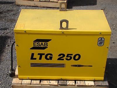 Esab 250a Tig Welder Squarewave Constant Current Ltg250 230440550v