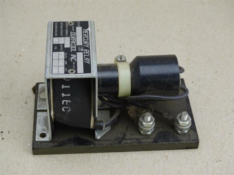 Durakool Inc  Mercury Relay  Volts 120 , BFv-57