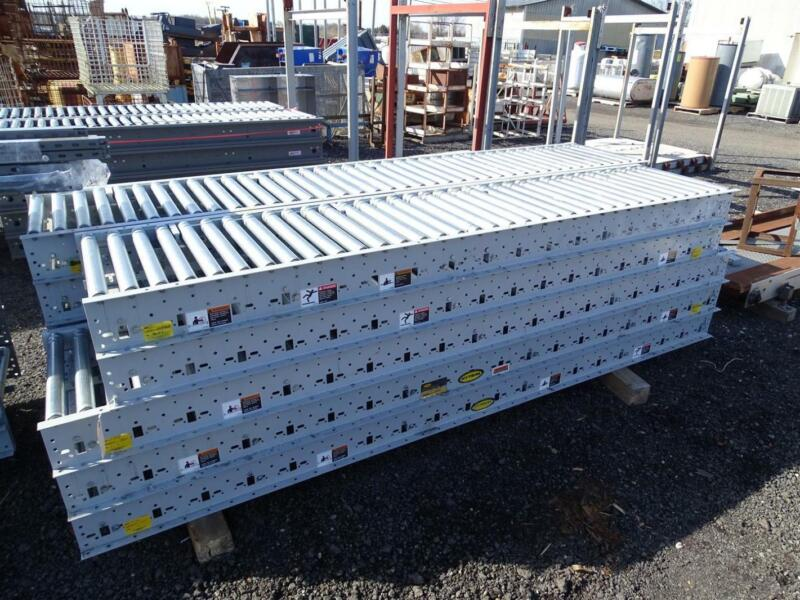 Hytrol 9FT Roller Conveyor with EZLogic Accumulation System