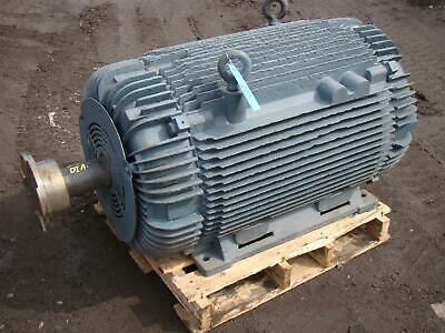 Large Electric Motor With Insocoat Bearings