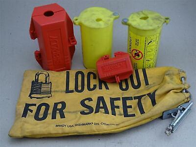 Brady Plug Lockout Kit With Bag Lockout