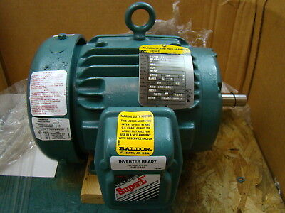 Baldor 1 Hp 3450 Rpm Electric Motor Ecp3580t-4
