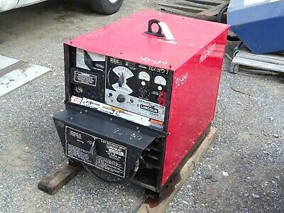 Lincoln Idealarc Dc Multiprocess Welder Power Source 230460v 3-ph Dc-400