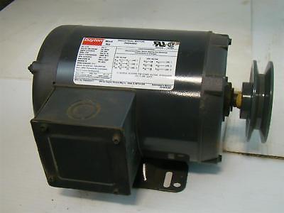 - Dayton Industrial Motor 1-1/2 HP PH3 208-230/460V 5.4-5.6/2.8Amps 3N644BD