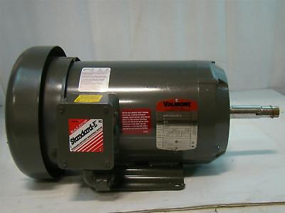 Baldor Standard E Valmont 5hp Electric Motor 460v 6amps 3450rpm 36f109s643h2