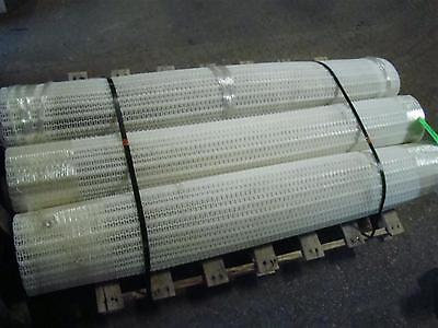 White Plastic Conveyor Belt 123 X 73.5