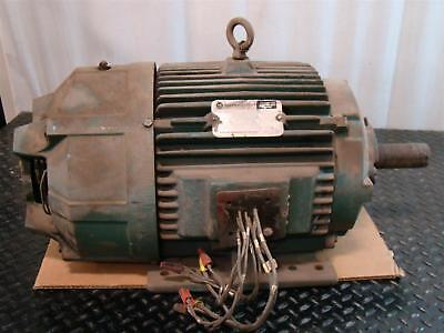 Allen-bradley 15hp Electric Motor 230460v 3 1765rpm 01man40072 G 001 Yy