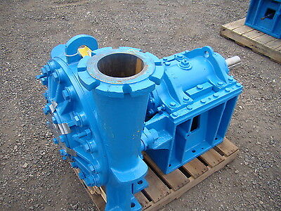 Warmin Weir Minerals Recirculating Slurry 6 X 6 Pump C-5 Ash