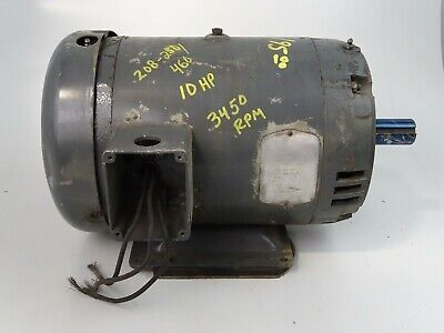 Baldor 10hp Electric Motor 208-230460v 10hp M3711t
