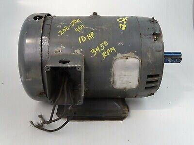 Baldor 10hp Electric Motor 208-230460v 10hp M3711t