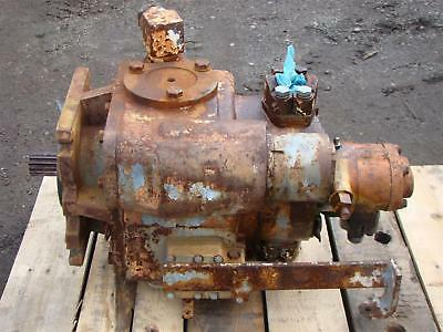 Sundstrand-sauer-danfoss Hydraulic Variable Piston Pump 607168 262025