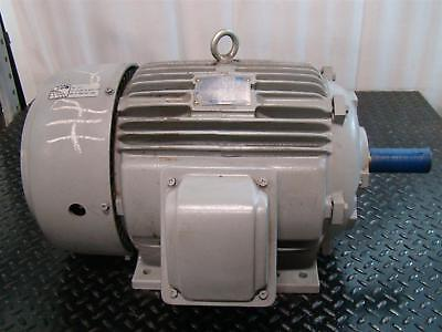 Teco Westinghouse Electric Motor 20hp 230460v 4623amps 1760rpm Ep0204