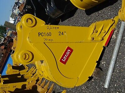 24 Excavator Bucket Komatsu 70mm Pin 12 12between Ears Pc160