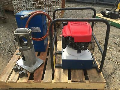 Huskie 60 Ton Compression Head Spx Gas Powered Hydraulic Powerpack Pg1203-alco