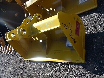 60 Excavator Ditching Bucket Komatsu 60mm Pin 10 12between Ears Pc120