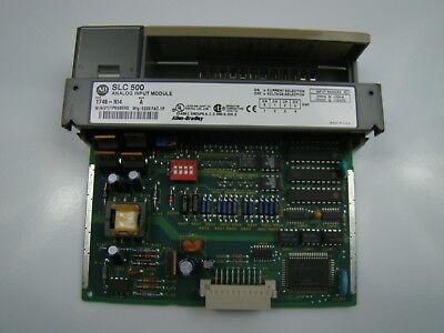 Allen Bradley Slc 500 Analog Input Module 1746-ni4