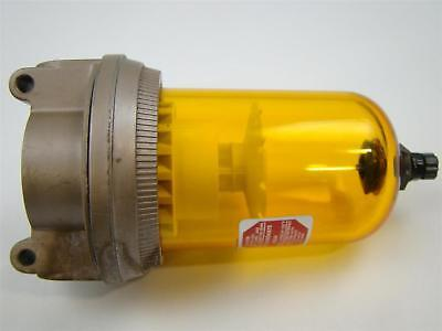 Schrader Bellow Pneumatic Lubricator Max Inlet 150 Psi Max Temp 120f 3533-