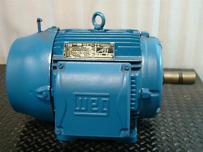 Weg Nema Premium W22 Inverter Duty Motor 3 15hp 380v 22a 1765rpm Z000181907