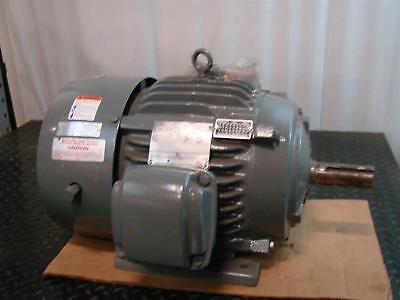 Us Motors Emerson Electric Motor 15hp 230460v 3 1775rpm Af96 X15e2b