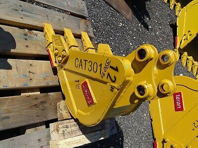 12 Mini Excavator Bucket 30mm Pin 5between Ears Cat301