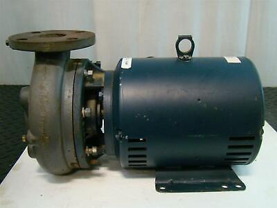 Burks Centrifugal Pump Marathon Motor 3500rpm 5hp 208-230v 3ph 21886 131574