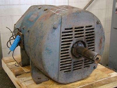 General Electric 15hp Shunt Wound Dc Motor 240volts 6502600rpm 5cd444e19b
