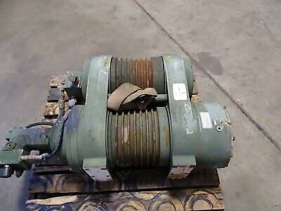 Dp Manufacturing 35000lb. Double Drum Hydraulic Winch  35tr-53356