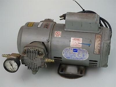 Gast Oil-less Piston Air Compressor Vacuum Pump 5lca-10-m500x