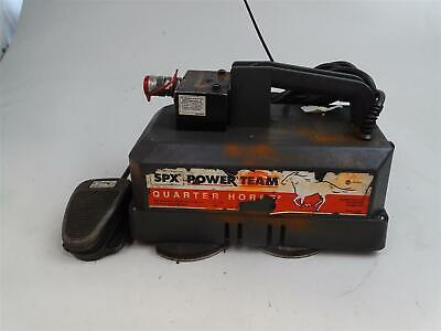 Spx Power Team Quarter Horse Electric Portable 2 Speed Pump  Lr19815