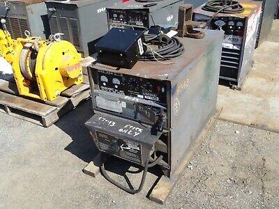 Lincoln Electric Dc Arc Welder 440 Volts Idealarc Dc-600