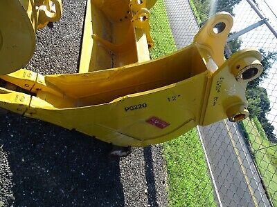 12 Excavator Trenching Bucket Komatsu 80mm Pin 13between Ears Pc220
