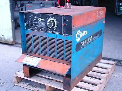 Miller Direct Current Arc Welding Cc Power Source 230460v Gold Star 400ss